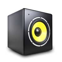 Power Dynamics Galax 10S 10 Inch Active Powered Home Studio Monitor Subwoofer
