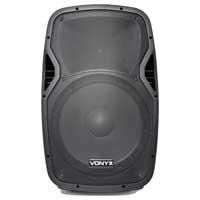 Vonyx AP1500 Passive DJ PA Band 15 Inch ABS Lightweight Foldback Speaker 800W