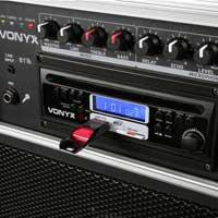 Vonyx ST100 Mk2 8 inch Portable Bluetooth Active Speaker