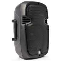 """Skytec Speaker SPJ-800 Small PA Mobile DJ Disco Karaoke Loudspeaker 8"""" 200W"""