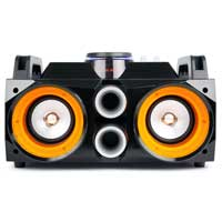 Fenton MDJ100 LED Portable Bluetooth Boombox