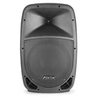 "Fenton FTB1200A Active Powered DJ PA Speaker 12"" Woofer Driver 250w"