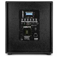Vonyx VX880BT 2.1 Active Speaker Set with Bluetooth