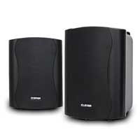 Clever Acoustics BGS35T 100v Black Speakers (Pair)