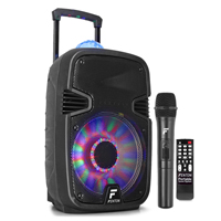 Fenton FT12JB Portable PA Party System with Bluetooth + Wireless Mic