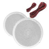 E-Audio B401A Round Ceiling Speaker Dual Moisture Resistant Cones