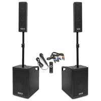 Vonyx VX1050BT Active Speaker Kit 2.2