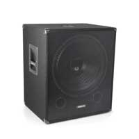 Vonyx SMWBA18MP3 Bi-AMP Subwoofer 18inch/1000W & Bluetooth
