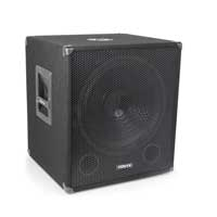 Vonyx SMWBA15MP3 Bi-AMP Subwoofer 15inch/600W & Bluetooth