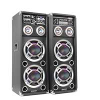 "Fenton KA-210 Dual 10"" Bluetooth Active Speaker Set"