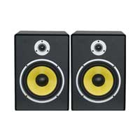 "Power Dynamics 178.936 8"" PDSM8 Active Studio Monitors 120W"
