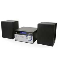 Fonestar MINIMUSIC Silver Micro Hifi Stereo System 10W RMS
