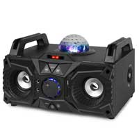 Front view of Fenton KAR100 Karaoke Machine Party Speaker