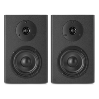 "Vonyx SM40 4"" Active Studio Monitor Speakers Pair"