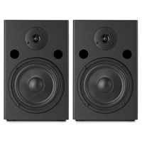 Vonyx SM65 6.5 Inch Active Powered Studio Monitor Set