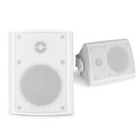 PD BGO40 White 4 Inch Passive Speaker Set IP56