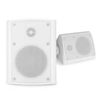 PD BGO40 White 5.25 Inch Passive Speaker Set IP56