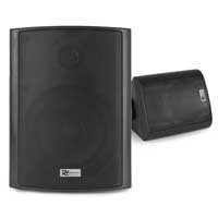 "PD BGB50 5.25"" Waterproof Wall Speaker Set, Black"