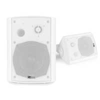 PD BGB50 White 5.25 Inch Powered Bluetooth Speaker Set IP54