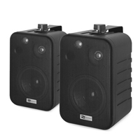 PD BV40V Black 4 Inch Passive Speaker Set