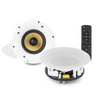PD WCS50 5.25 Inch WiFi Bluetooth Powered Ceiling Speaker Set