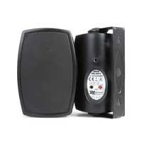 """Power Dynamics ISP4B 4"""" Weatherproof Wall Speaker Set"""
