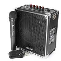 Fenton ST040 Portable Amplifier 40W Bluetooth MP3 USB SD UHF