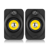 "Vonyx XP40 Active Studio Monitors (Pair) 4"" USB Bluetooth"
