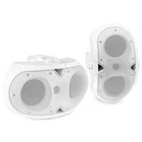 Power Dynamics BE42W Indoor / Outdoor Speaker Set White 150W