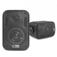 Power Dynamics BGO30 Speaker Set In/Outdoor 3 Inch 60W Black
