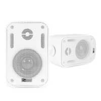 Power Dynamics BGO30 Speaker Set In/Outdoor 3 Inch 60W White
