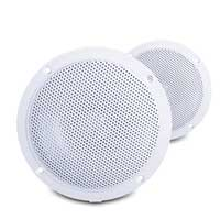 E-Audio B300A 4 Inch Ceiling Speakers 60W Moisture Resistant Twin 4Ohm