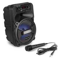 Fenton FPC8 Portable Party Speaker + Microphone