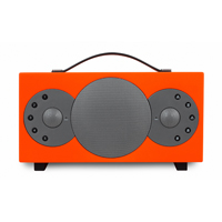 Tibo Sphere 2 Portable Stereo Speaker with Bluetooth & WiFi, Orange