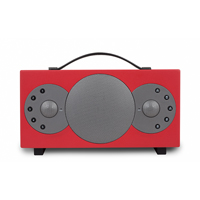 Tibo Sphere 2 Portable Stereo Speaker with Bluetooth & WiFi, Red