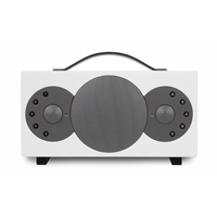 Tibo Sphere 2 Portable Stereo Speaker with Bluetooth & WiFi, White