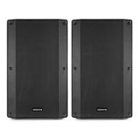"Vonyx VSA120S 12"" Bluetooth Active DJ Speaker Pair"
