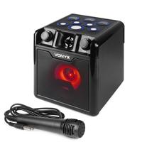 Vonyx SBS50B-DRUM Karaoke Drum Machine Speaker & Microphone