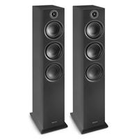 Fenton SHF80B Tower Speakers, Black