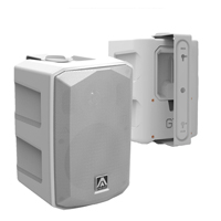 """Amate G7 6.5"""" Wall Speakers Pair, White"""