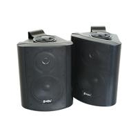 Skytec ODS50B Wall Speakers Pair, Black
