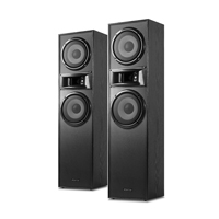 """Floor Standing Tower Speakers - Fenton SHF700B  2x 6.5"""" Black"""