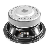 "Fenton 6.5"" Polypropylene Mid Driver 175W"