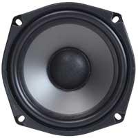 Monacor SPH-135TC 4.5 Inch Dual Coil Speaker Driver 2x 60W