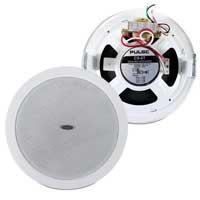 White Flush Mount Ceiling PA Speaker 6W
