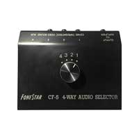 Fonestar CF-5 4 Way Line Input Switcher