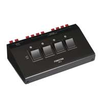 Fonestar CB-4 4 Way Stereo Loudspeaker Switcher