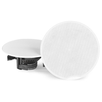 """PD CSH50 8"""" Ceiling Speakers Pair with Amplifier & Bluetooth"""