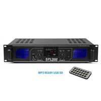 Skytec SPL-2000 Amplifier + Mobile Phone Cable 2 x 1000W