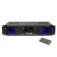 Skytec MP3 USB/SD DJ Disco PA Amplifier 1500W